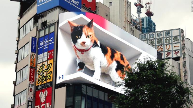3D billboard Japan